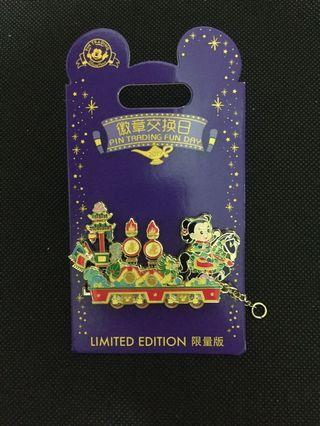 迪士尼襟章 上海迪士尼樂園 2019徽章交換日