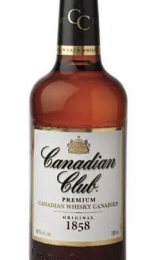 Canadian Club Blended Whisjey