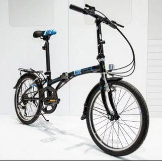 dahon 折疊單車 HAT060 黑色
