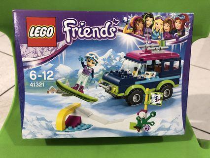 LEGO Friends Snow Resort Off-Roader 41321