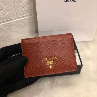 【Clearance】Prada card holder