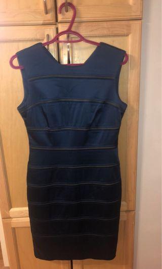 Designer dress size 6 med