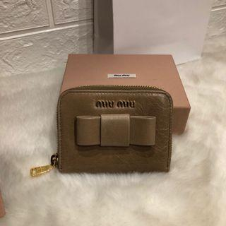 【Clearance】MiuMiu zip ard small wallet