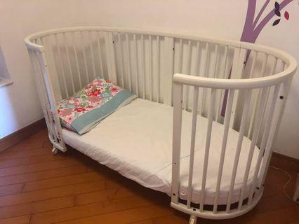 Original Stokke cot/bed in great condition