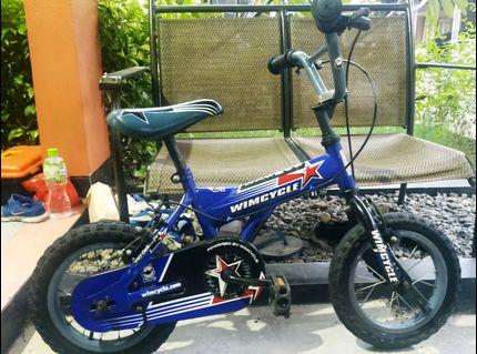 Sepeda anak WIMCYCLE ukuran 12 inch