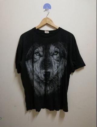vintage fullprint animal t shirt