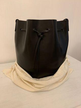 Mansur Gavriel Large Bucket Bag - Silver