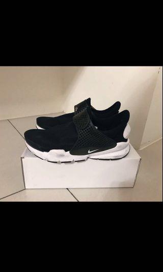 Nike Sock dart 黑白襪套鞋