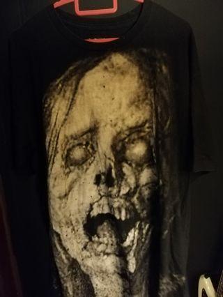 Horror zombie shirt