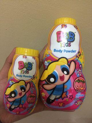 BUNDLE 2 B&B KIDS BODY POWDER