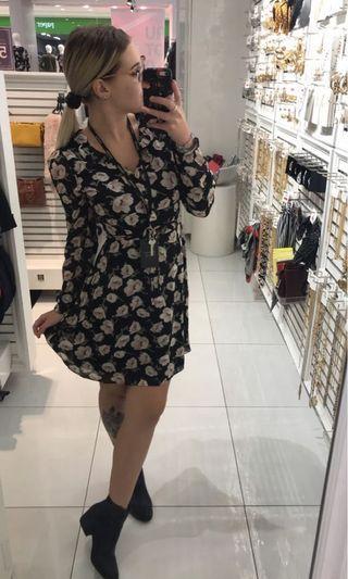 Chiffon dress size 8 retail $80