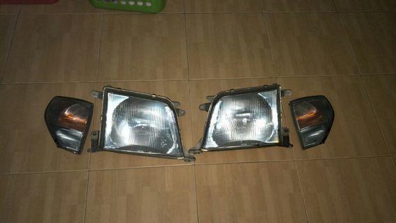 Prado 95 1kz headlamp