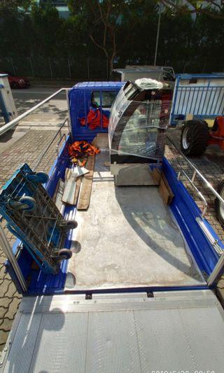 Power tailgate Chiller Transport