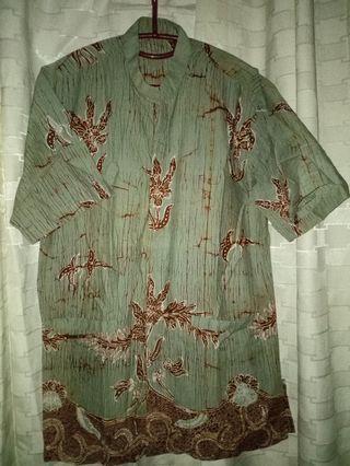 Kemeja Batik MADURA ASLI LD 115 Pjg 85 #fave777888