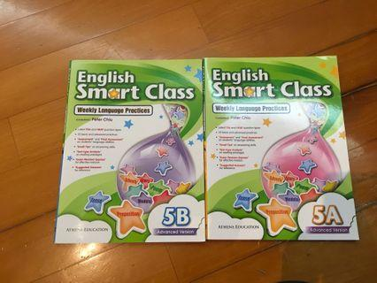 呈分 English smart class weekly language practices 5A 5B 英文練習