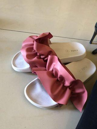 Ruby Pink Sandals
