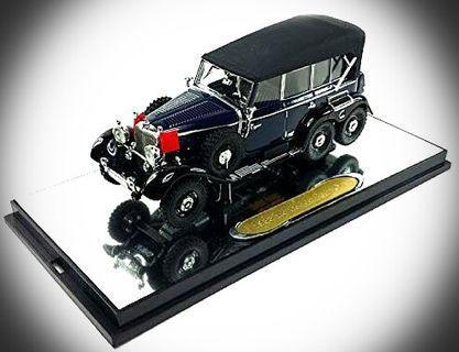 Diecast 1:43 M.Benz G4(1938)German【Blue/Premier】