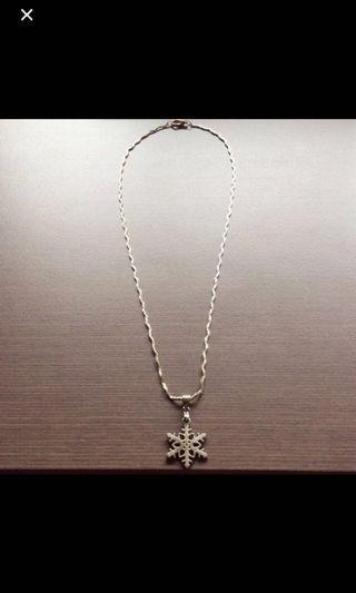 ❄️ pendant necklace