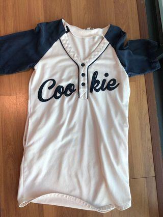 Baseball Shirt dress by Zara