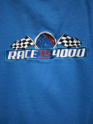 Tshirt biru TATA MOTORS OFFICIAL Race to 4000 #fave777888
