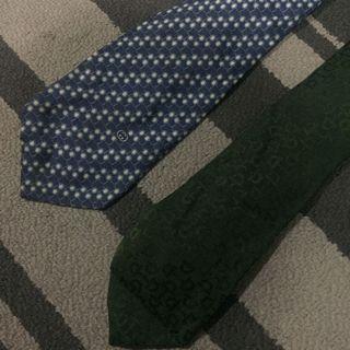Gucci neck tie vintage combo