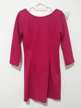 FORMAL PINK DRESS BANGKOK