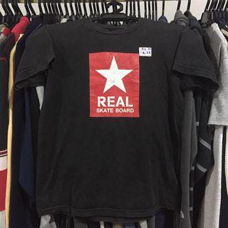 Vintage real skateboard tshirt