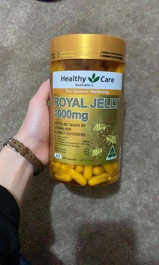 🚚 Royal Jelly 1000mg