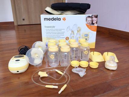 Medela Freestyle Breast Pump set