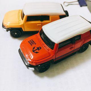 🚚 TAKARA TOMY 汽車模型 (兩台合售)