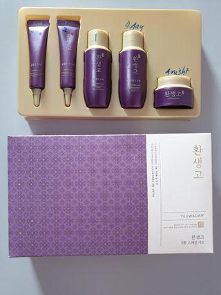 🚚 Faceshop Yehwadam Premium anti-aging skin care kit