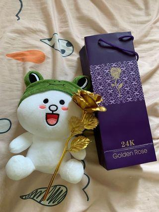 🚚 24k flower and stuff toy