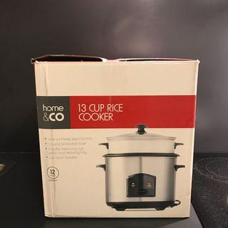 CHEAP!!! Home&co 13 cup rice cooker KMART