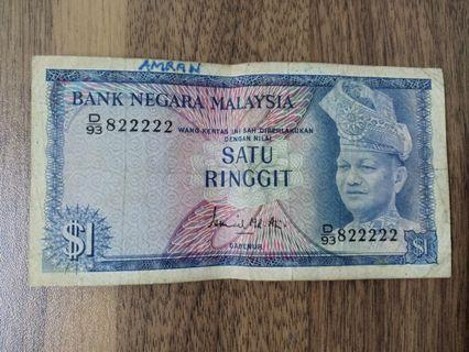 Old RM1 / Nice number 822222