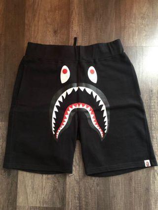 BAPE Shark Sweat shorts size M
