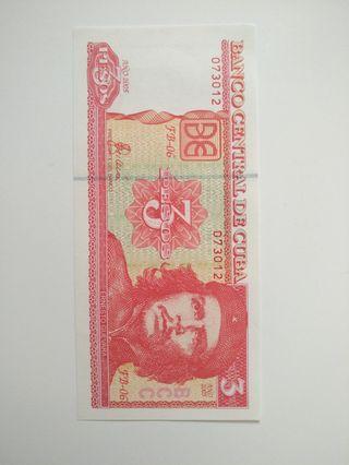 古巴紙幣(哲古華拉) Cuba currency