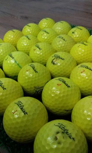 🚚 golf ball titliest yellow..