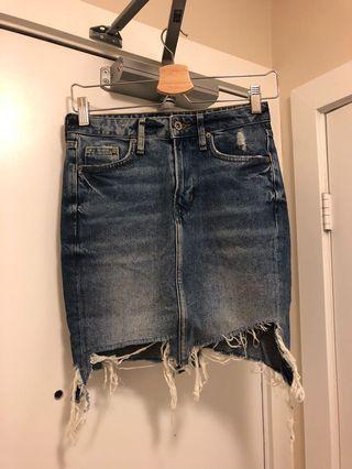 H&M Denim Skirt: Size 2
