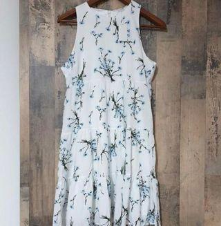 BNWT ACW White Floral Babydoll Dress