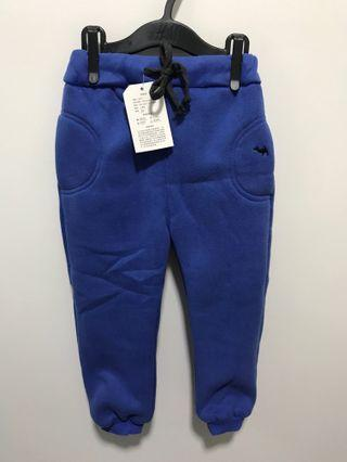🚚 BNWT Thick Blue Fleece Pants for Winter