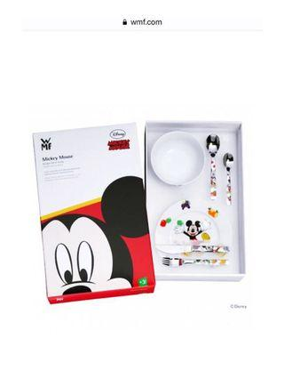 🚚 Brand new in box WMF Disney Mickey Mouse 6 Piece Cutlery Set