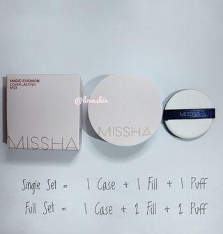 Missha Magic Cushion Cover Lasting No. 23 Single Set
