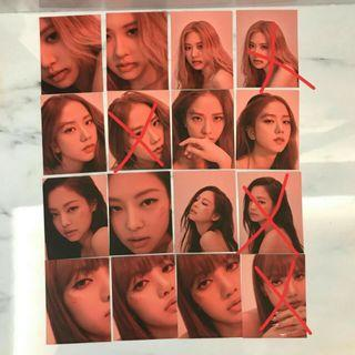 (WTB) WANT TO BUY BLACKPINK KILL THIS LOVE PHOTOCARD POLAROID