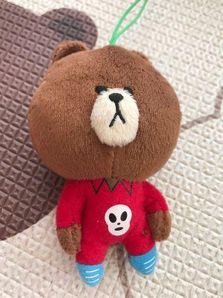 Line Friends 熊大兔兔公仔