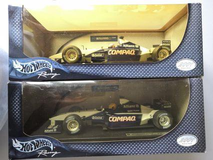Hotwheels BMW Williams  F1 FW23 1:18 Team Williams FW 23 Year 2001