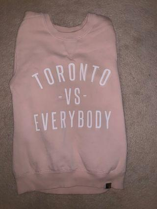 Peace Collective Toronto vs Everybody crewneck