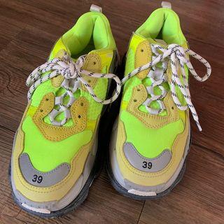Balenciaga Triple S Sneaker Neon