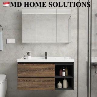 MD HOME Storage Concept - wooden Bathroom Vanity