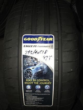 245/40R18 Goodyear F1 Asymmetric 3