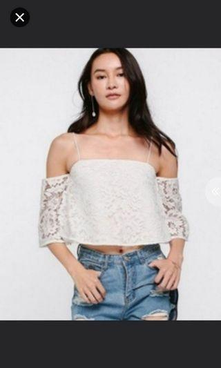 Love Bonito Lace Top